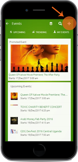 Create Event - Sell tickets