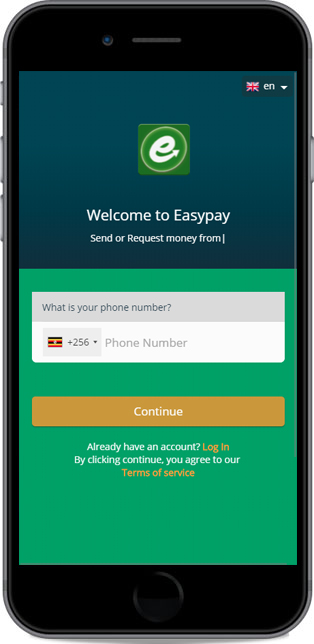 How to register for an EasyPay Account